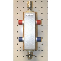 Гидрострелка (Гидравлический разделитель) Gidruss GR-100-32 (до 100 кВт, 1 1/4