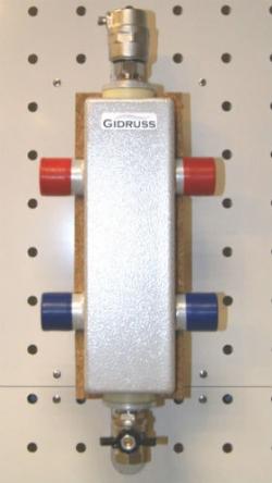 Гидрострелка (Гидравлический разделитель) Gidruss GR-60-25 (до 60 кВт, 1