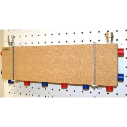 Модульный коллектор отопления Gidruss MK-60-4D (для гидрострелок GR-60-25, 4 выхода G 1'')