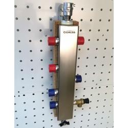 Гидрострелка (Термо-гидравлический разделитель) Gidruss TGRSS-60-25х2 (до 60 кВт, 2 контура G1'') из нержавеющей стали