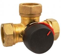 """Клапан трехходовой поворотный регулирующий ESBE VRG 131, DN25, вн.1"""", KVS 10, для теплого пола"""