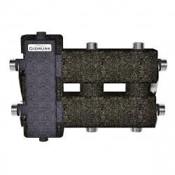 Коллектор с гидрострелкой Gidruss и термоизоляцией BM-60-3DU.EPP (до 60 кВт, вх. G 1″, 2+1 контура G 1″, EPP-термоизоляция) Артикул: BM 6001T 20