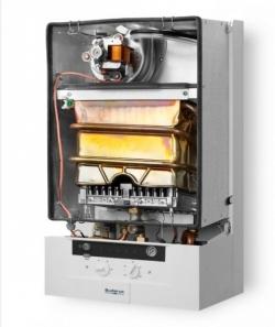 Котел настенный газовый Buderus Logamax U042-24K с закрытой камерой сгорания для отопления и ГВС