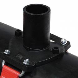 Седелочный отвод электросварной 710-800x250 пэ 100 sdr 11