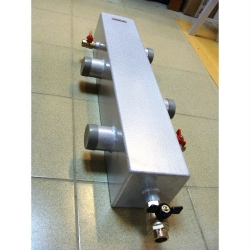 Гидрострелка (Гидравлический разделитель) Gidruss GR-300-65 (до 300 кВт, 2 1/2