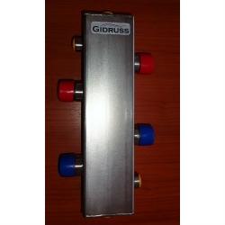 Гидрострелка (Гидравлический разделитель) Gidruss GRSS-100-32 (до 100 кВт, G 1 1/4'') нерж. сталь AISI 304