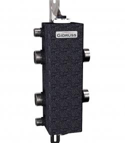 Гидрострелка (Гидравлический разделитель) Gidruss GR-250-50 (G 2'' Ду-50 250 кВт)