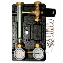 """Насосная группа Meibes Поколение 8 MK 1"""" электронный термостат без насоса с ограничением температуры подающей линии"""