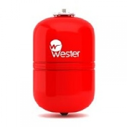 Бак мембранный расширительный Wester WRV18 для отопления
