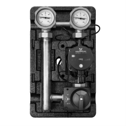 """Насосная группа Meibes Поколение 8 MK 1"""" электронный термостат с насосом Grundfos UPS 25-6 и ограничением температуры подающей линии"""