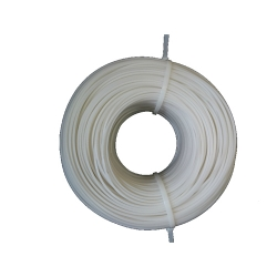Сварочный пруток ПНД ПЭ диаметр 6 мм, цвет белый