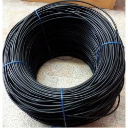 Сварочный пруток ПНД ПЭ диаметр 6 мм, цвет чёрный