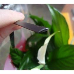 """Искусственный ротанг """"Полумесяц цвет венге 8 мм, текстура гладкая"""""""