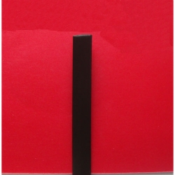 """Искусственный ротанг """"Полоса цвет венге 8 мм, текстура гладкая"""" 2 бухты"""