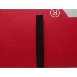 """Искусственный ротанг """"Полумесяц цвет венге 9 мм, текстура гладкая"""" 2 бухты"""