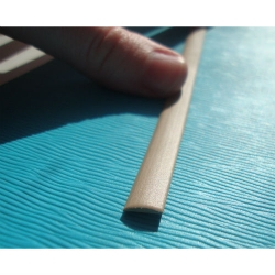 """Искусственный ротанг """"Полумесяц цвет бежевый 7 мм, текстура гладкая"""" 2 бухты"""