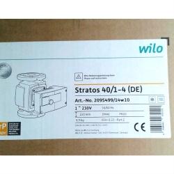 Насос циркуляционный Wilo Stratos 40/1-4 с фланцевым соединением
