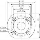 Насос циркуляционный Wilo Top-RL30/4 EM PN6/10