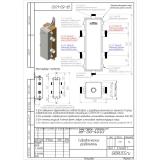 Гидрострелка (Гидравлический разделитель) Gidruss GRSS-150-40 (до 150 кВт, G 1 1/2'') нерж. сталь AISI 304