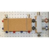 Модульный коллектор отопления Gidruss MK-60-3D (для гидрострелок GR-60-25, 3 выхода G 1'')