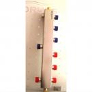Гидрострелка (Термо-гидравлический разделитель) Gidruss TGRSS-40-20х3 (до 40 кВт, 3 контура G ¾'') из нержавеющей стали