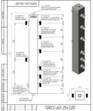 Гидрострелка (Термо-гидравлический разделитель) Gidruss TGRSS-60-25х3 (до 60 кВт, 3 контура G1'') из нержавеющей стали