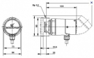 Насос циркуляционный Grundfos UP15-14BU 80 с таймером для ГВС