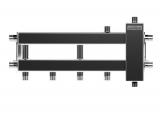 Коллектор отопления с гидрострелкой Gidruss BMSS-40-3D (до 40 кВт, все контуры G ¾″, 4D-кронштейны K.UMS, подключение термодатчика) Артикул: BM 40A20 20