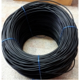 Сварочный пруток ПНД ПЭ диаметр 6 мм, цвет чёрный, 10 кг