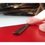 """Искусственный ротанг """"Полумесяц цвет коричневый 9 мм, текстура гладкая"""""""