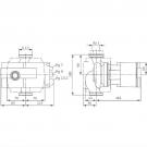Насос циркуляционный Wilo Stratos 100/1-12 с фланцевым соединением PN10
