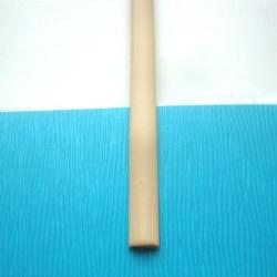 """Искусственный ротанг """"Полумесяц цвет топленое молоко 8 мм, текстура гладкая"""" 2 бухты"""